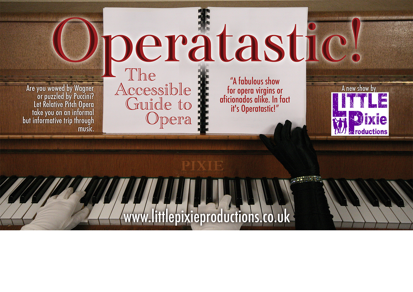 Operatastic! Flyer Front