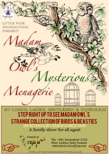 Madam Owl's Mysterious Menagerie
